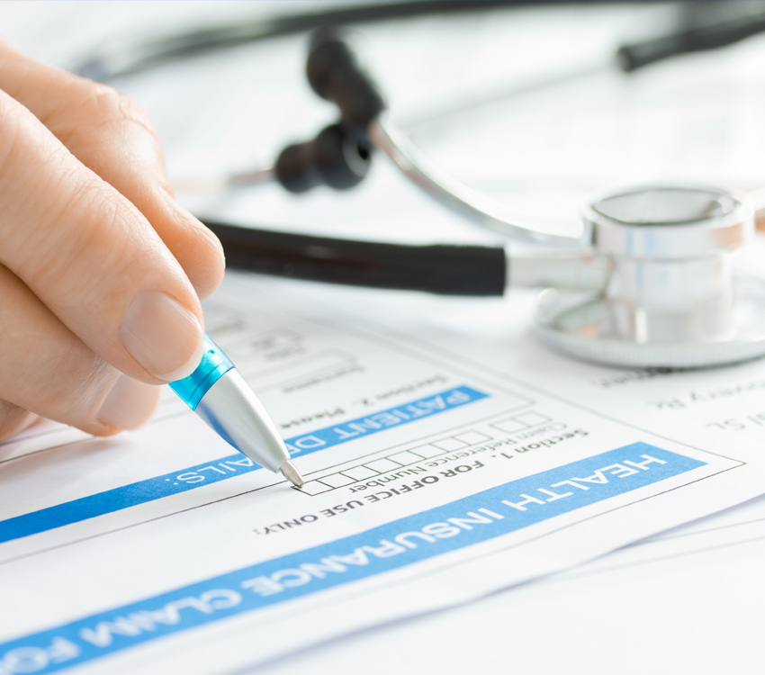 Filing Health Insurance Papers
